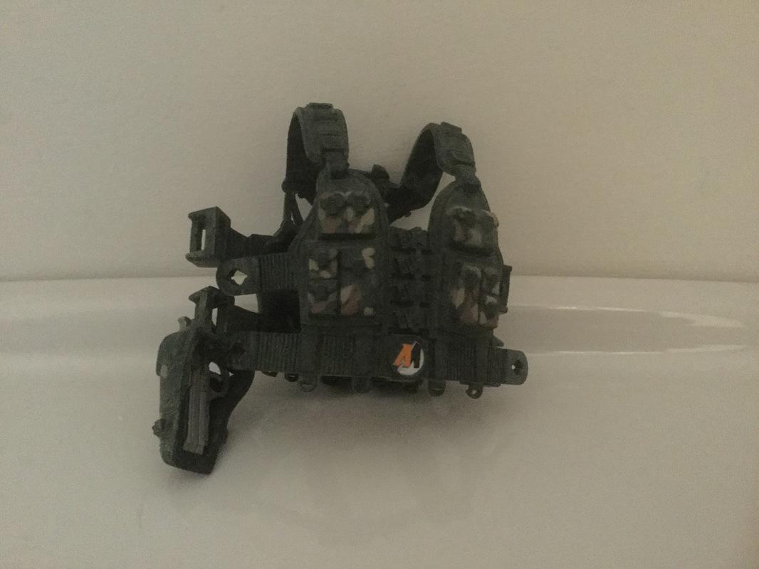 Mortar Combat Mission Raid Plastic vest. IMG_0274