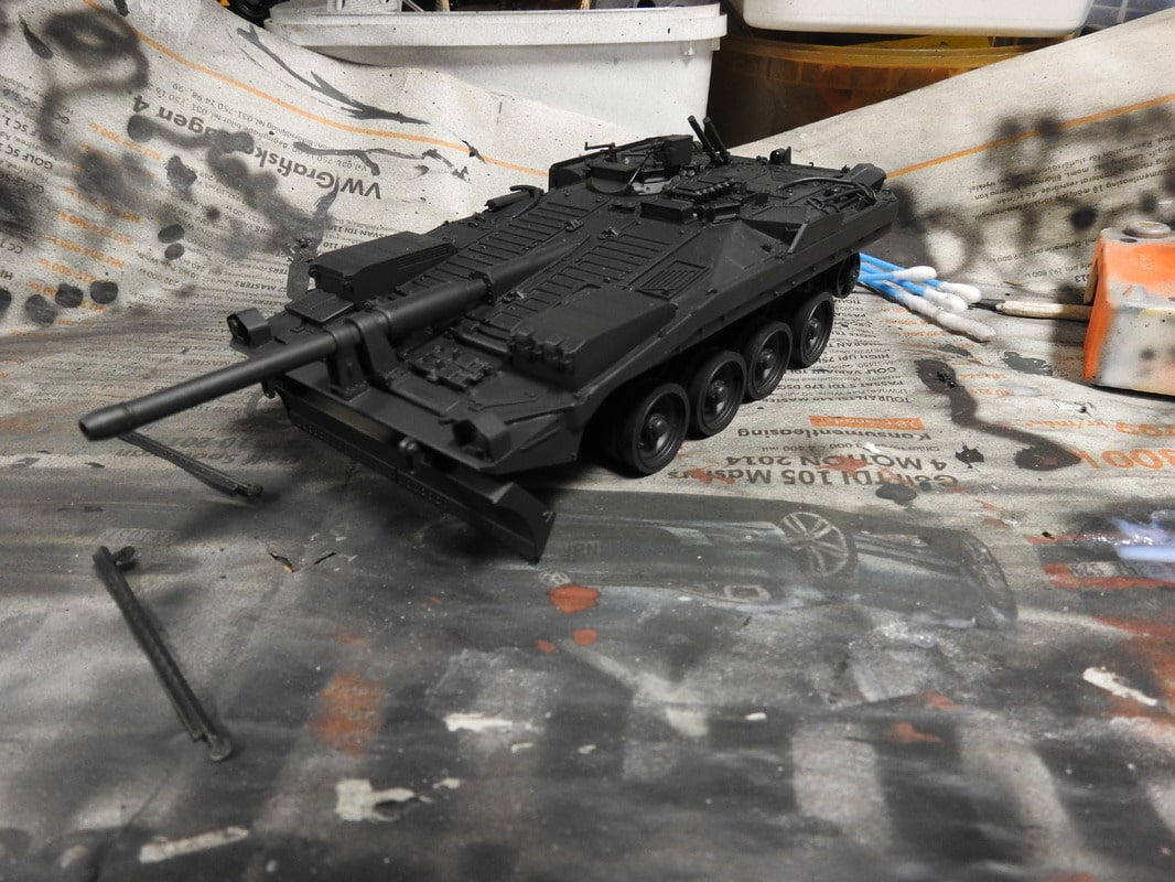 Strv 103C, Trumpeter 1/35 - Sida 2 DSCN1772