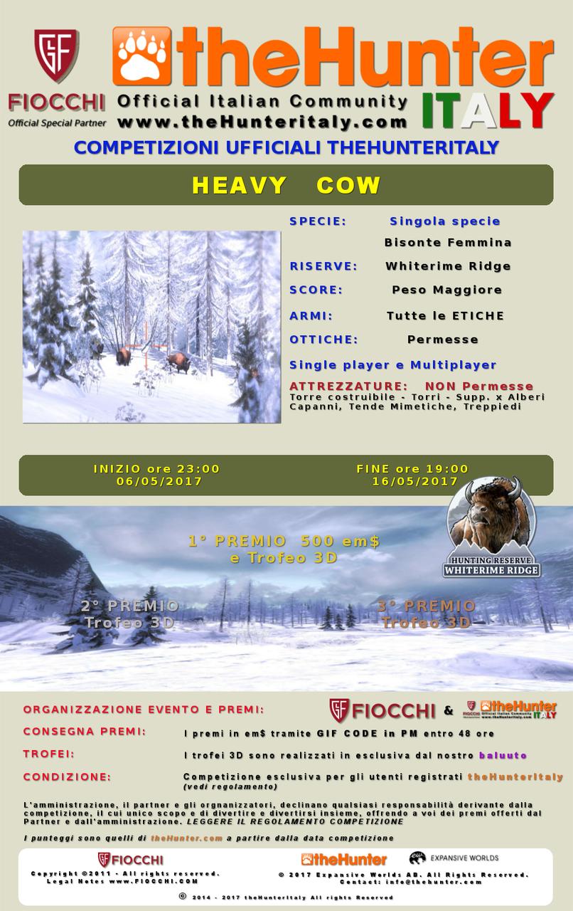 [CONCLUSA] Competizioni ufficiali TheHunteritaly - Heavy Cow - Bisonte femmina - Heavy_cow_Bisonte_ombre_finito