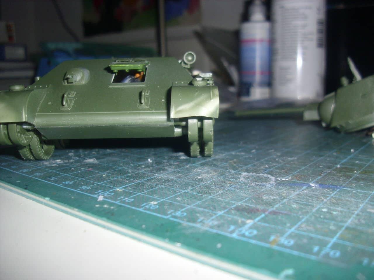 T-34/76 1943 early model. ICM 1/35 - Sida 4 DSCI0657