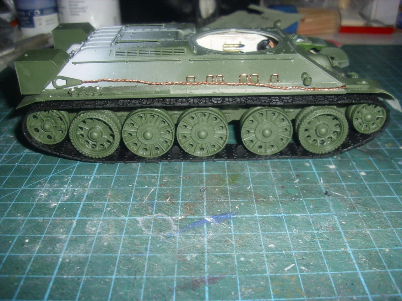T-34/76 1943 early model. ICM 1/35 - Sida 4 DSCI0659