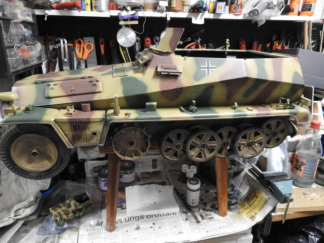 SdKfz 250 Armor Hobbies 1/6 - Sida 16 DSCN3150