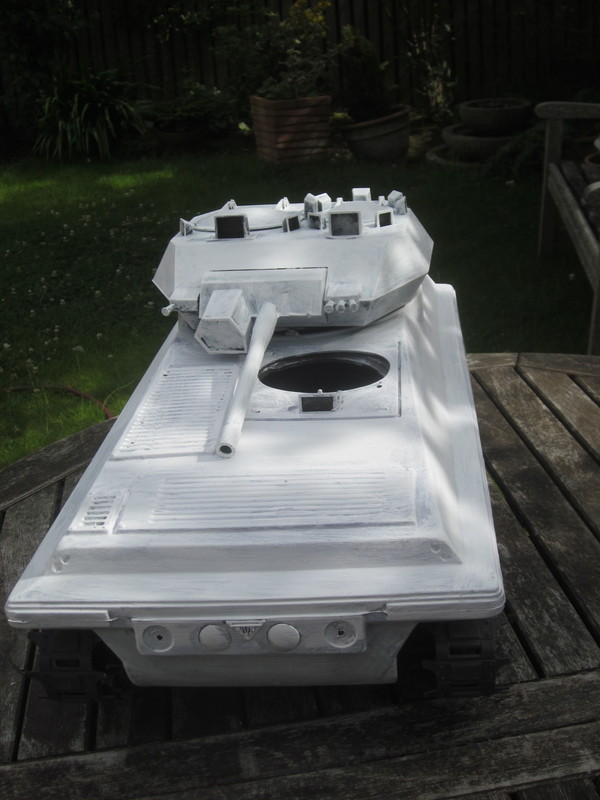 My Tank covered in Primer IMG_4649