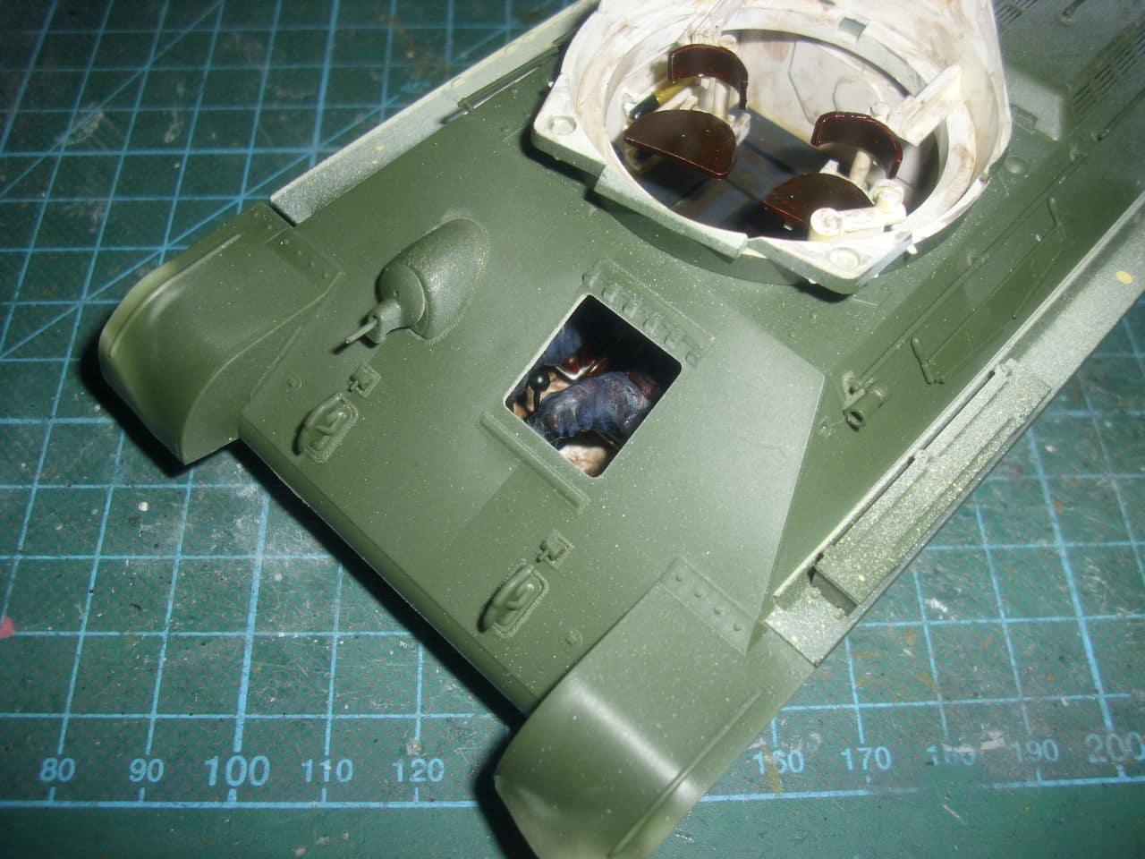 T-34/76 1943 early model. ICM 1/35 - Sida 4 DSCI0623