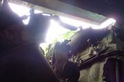 Танк КВ-1 изнутри (№ 9854), Ропша, Ленобласть. P6230339