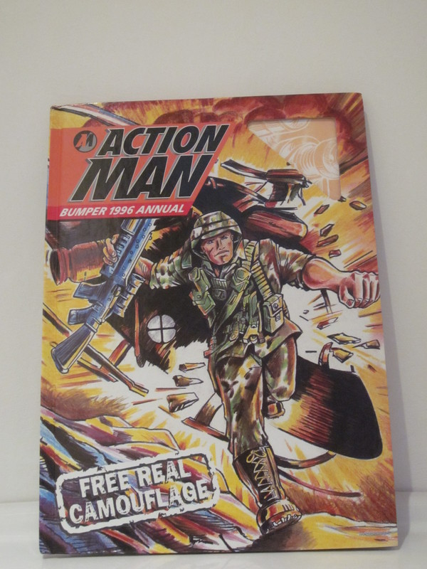Action Man annuals and books IMG_3928