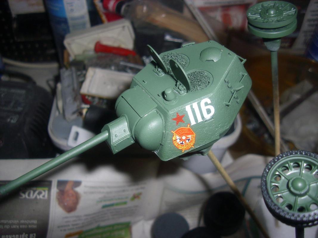 T-34/76 1943 early model. ICM 1/35 - Sida 4 DSCI0731