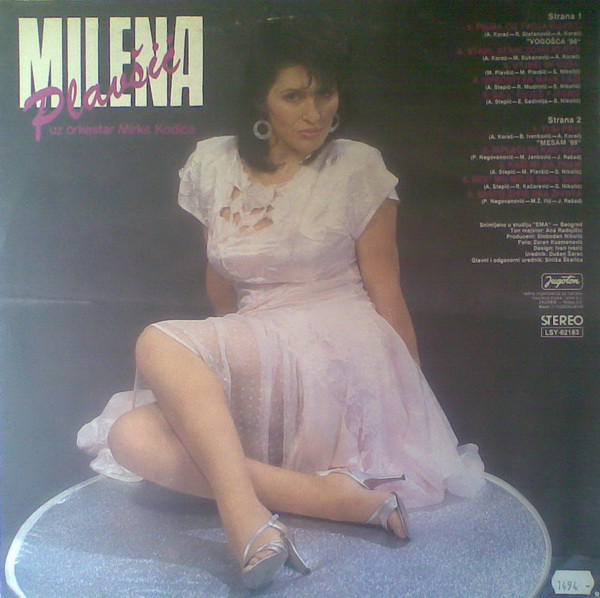 Milena Plavsic - Diskografija Milena_Plavsic_1987_Pisma_Cu_Tvoja_Cuvati_ZADN