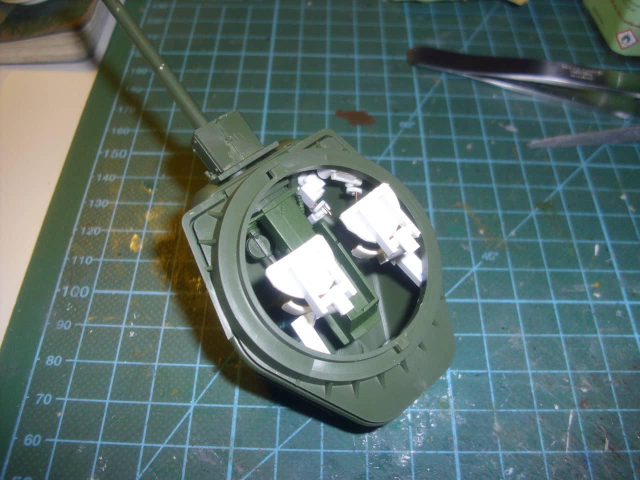 T-34/76 1943 early model. ICM 1/35 - Sida 3 DSCI0549