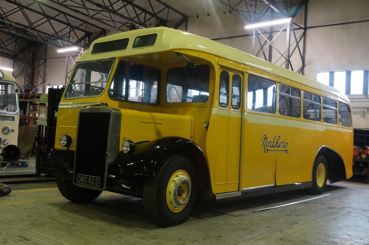 MAM visiting The Scottish Vintage Bus Museum. FB5_D70_C4-0_E6_B-4338-_BCB9-10_FB52_ADE072