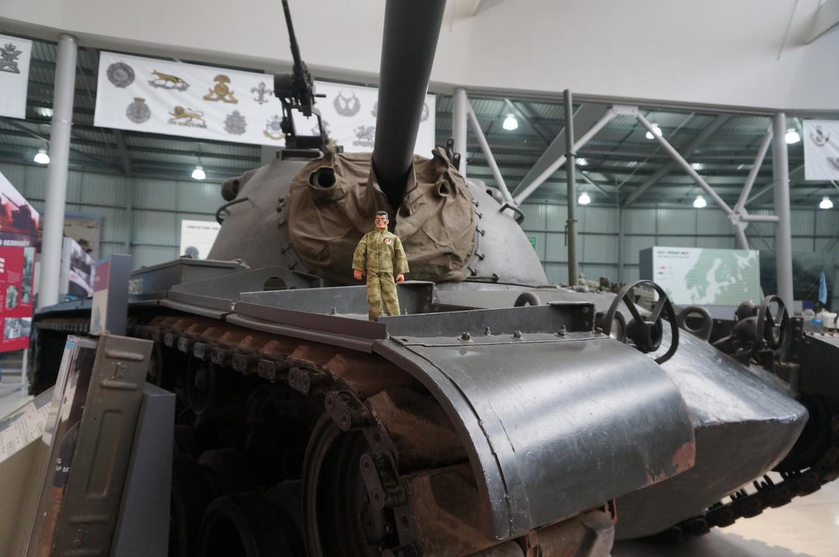 Action Man at Bovington Tank Museum 2016 photos. DSC01227