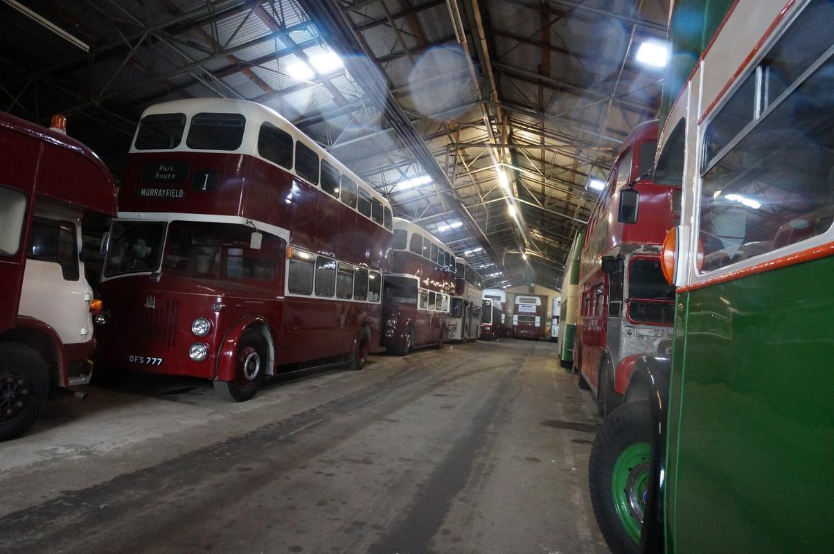 MAM visiting The Scottish Vintage Bus Museum. ACA2_ACEF-_A69_D-4_E21-_BEBF-753226_C33_FA1