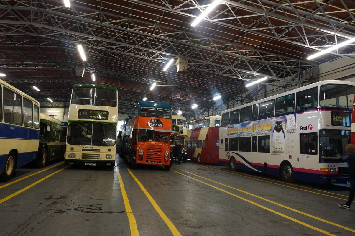 MAM visiting The Scottish Vintage Bus Museum. 35_E6_DAAF-5_AE7-4141-8_BF7-9397857_F6_E32