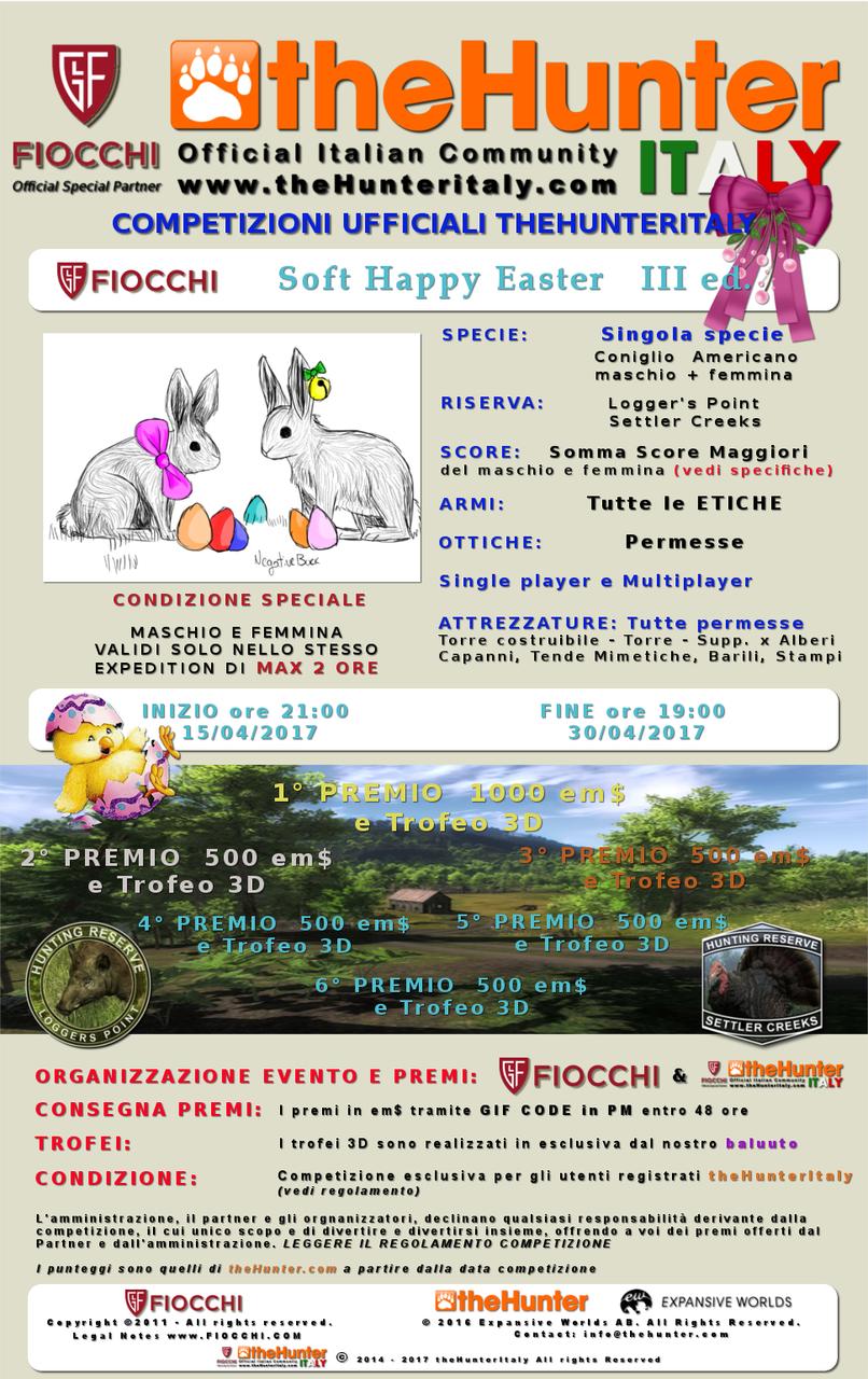 [CONCLUSA] Competizioni ufficiali TheHunteritaly - Soft Happy Easter III ed. - Coniglio Americano maschio + femmina - FIOCCHI_Soft_Happy_Easter_2017_ombre