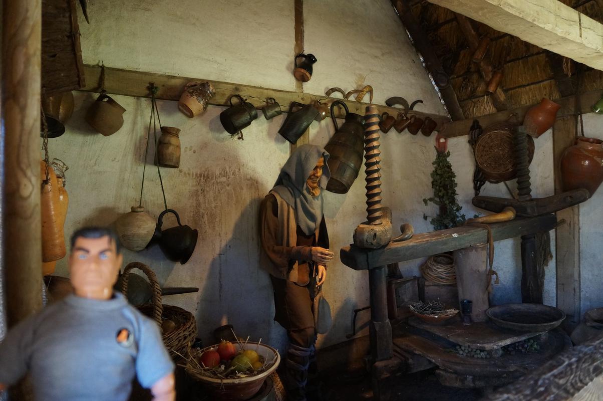 My MAM visiting Mountfitchet Castle. 88_D8_DFF3-92_DE-4_B9_B-9_D1_F-5208_EA0_E4349