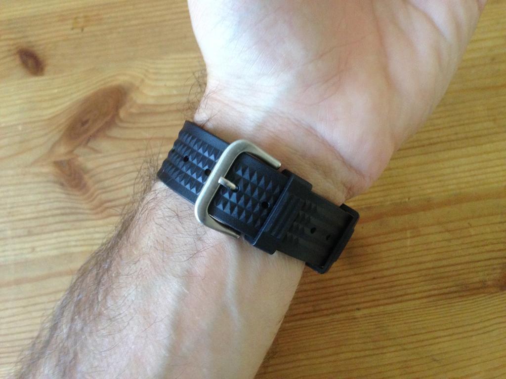 Uncle Seiko Waffle Strap — Para os divers Seiko IMG_7641