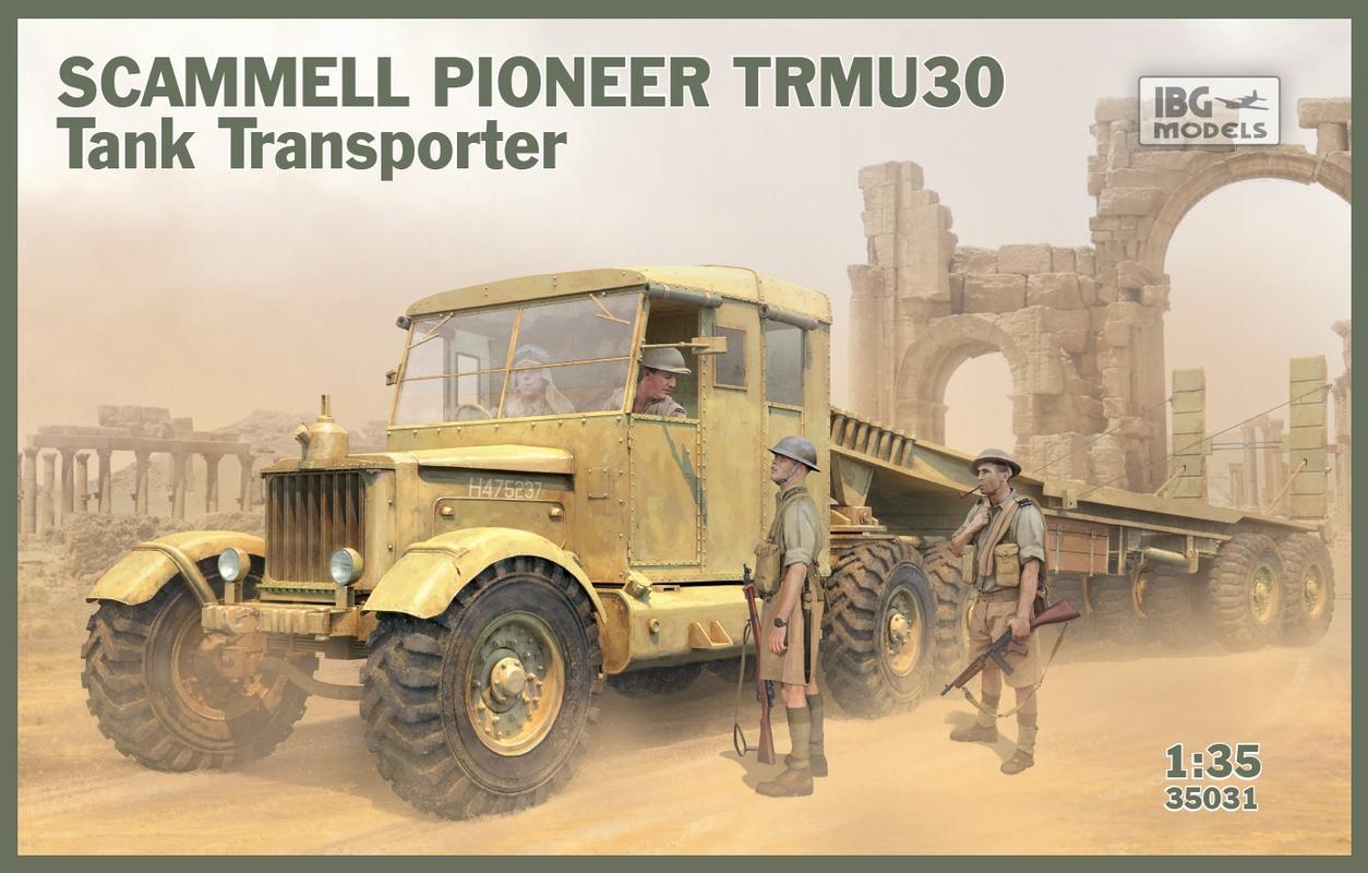 Scamell Pioneer SV2S Heavy Breakdown Tractor, IBG 1/35 35031