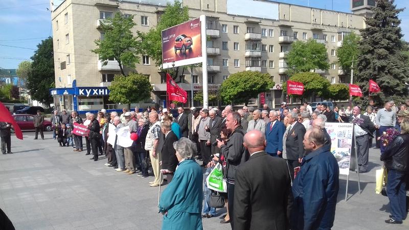 Lviv -  Ukraine crisis. News in brief. Monday 02 May [Ukrainian sources]  20160501_104320