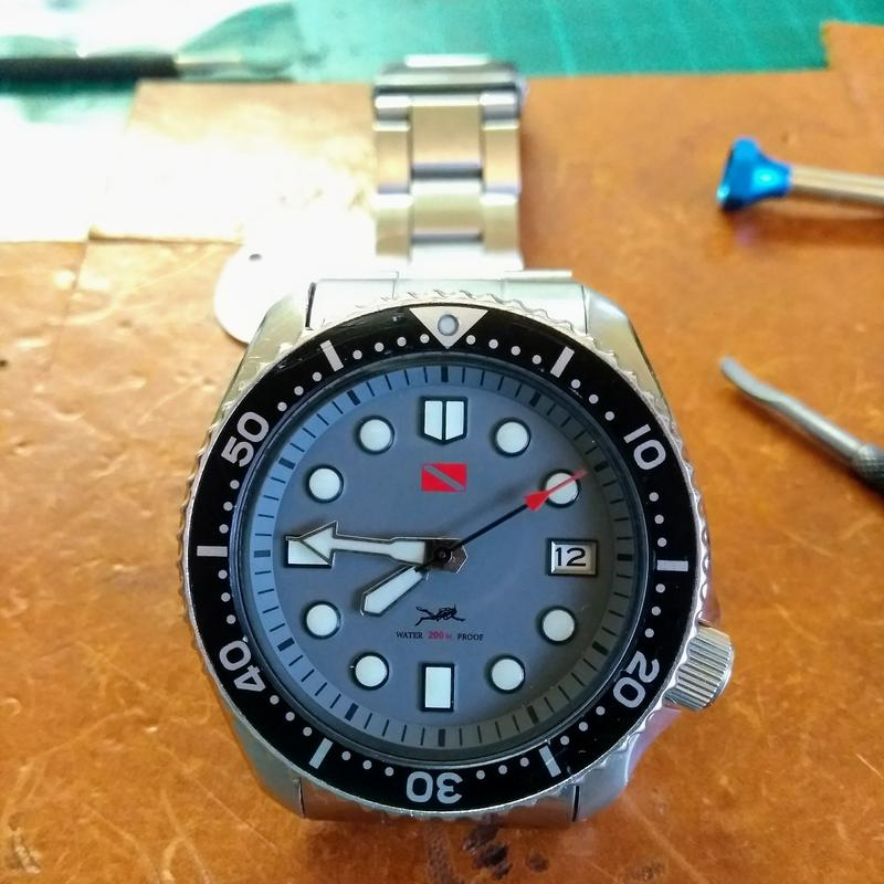 New dial and chapter ring for SKX007 (photo heavy) IMG_20180612_194555000