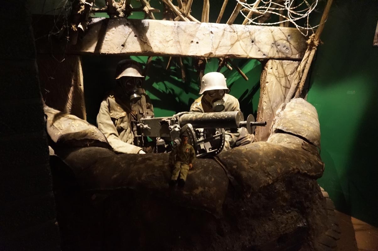 Action Man at Bovington Tank Museum 2016 photos. DSC01252