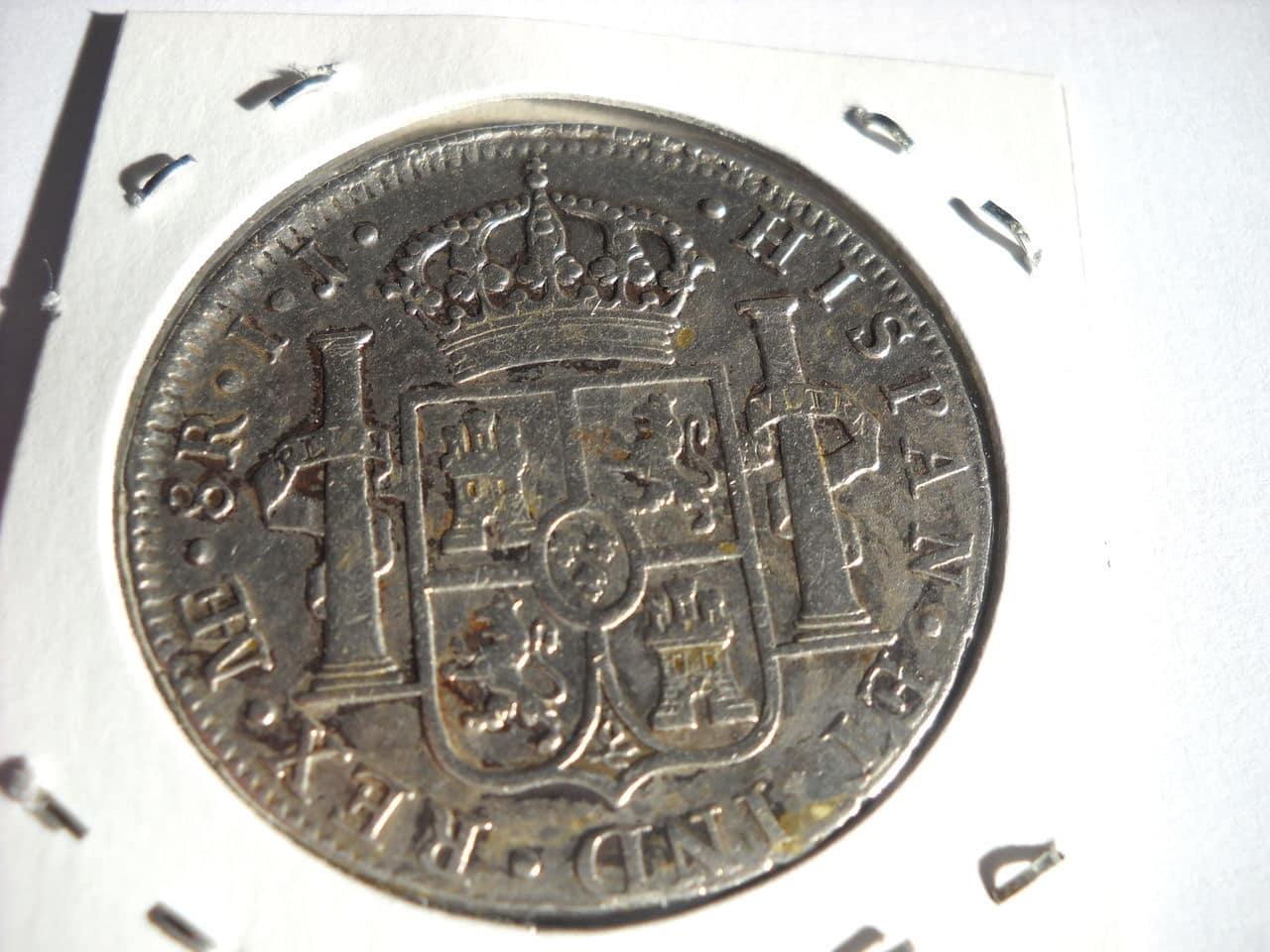 8 reales 1798 Carolus IIII - Lima DSCN0005