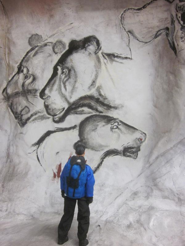 Action Man exploring a fake cave. IMG_5596