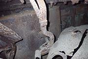 Танк КВ-1 изнутри (№ 9854), Ропша, Ленобласть. P6230082