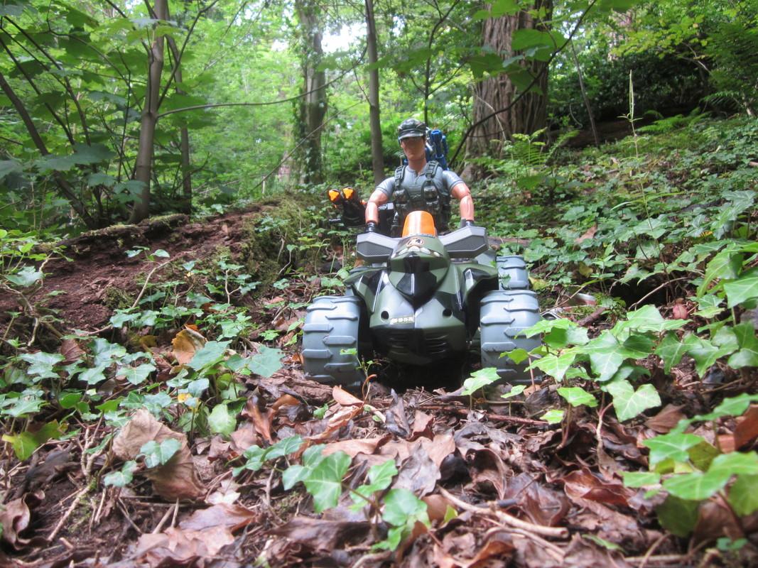 Action Man Quad Assault Woodland Random Photos. IMG_4340