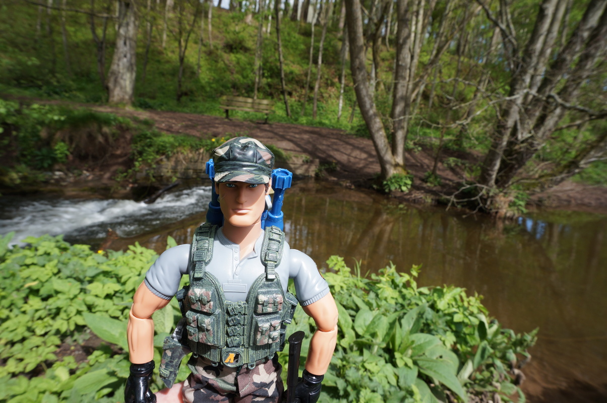 My Action Man Mortar Combat Mission Raid Random Woodland Photos DSC00699