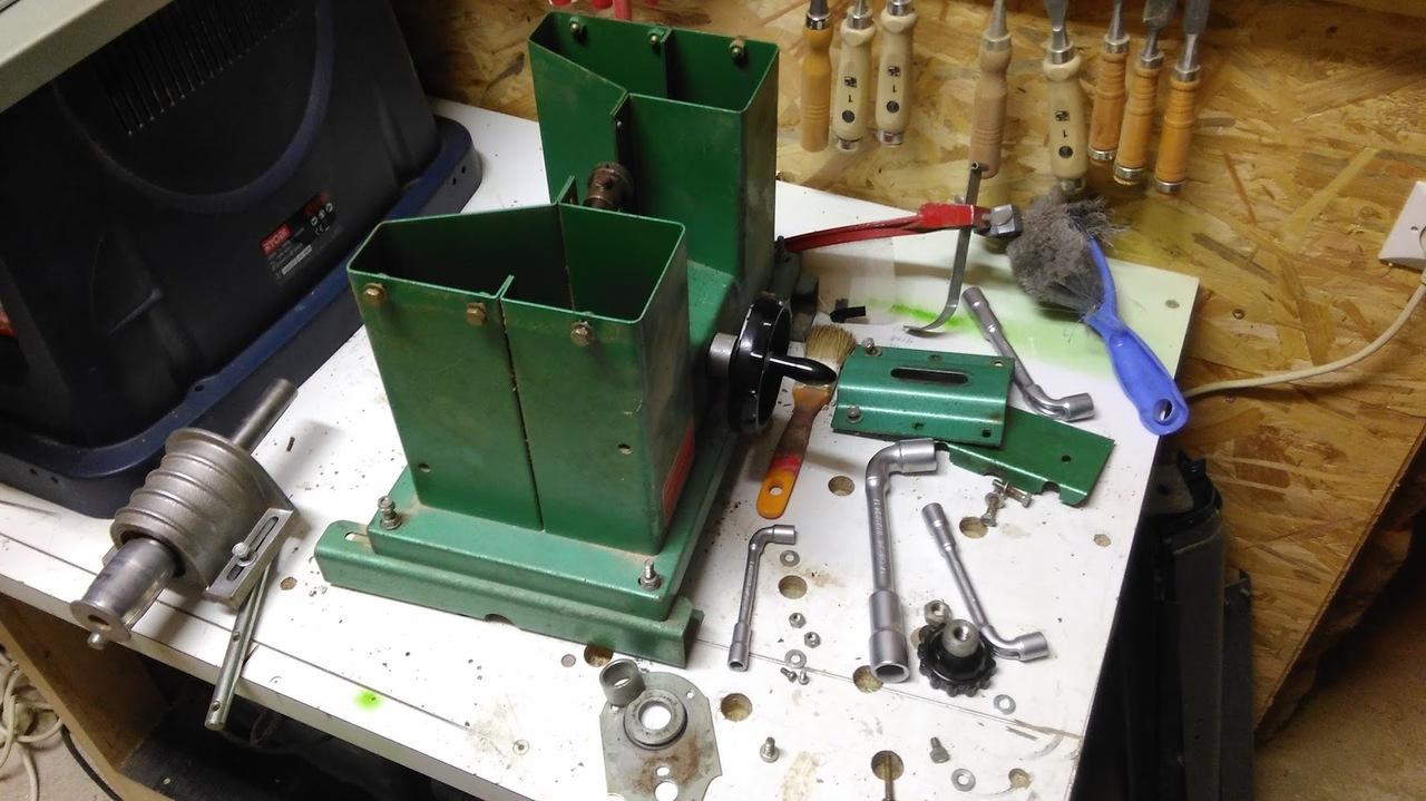 Aménagement d'atelier - Fabrication d'un combiné scie/toupie IMG_20160810_204423