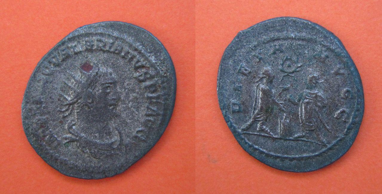 Antoniniano de Valeriano I. PIETAS AVGG. Samosata o Antioquía. Antoniniano_Valeriano_I_PIETAS_AVGG