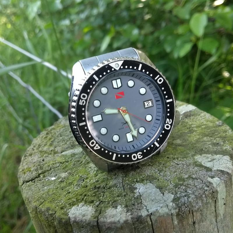 New dial and chapter ring for SKX007 (photo heavy) IMG_20180612_092856059