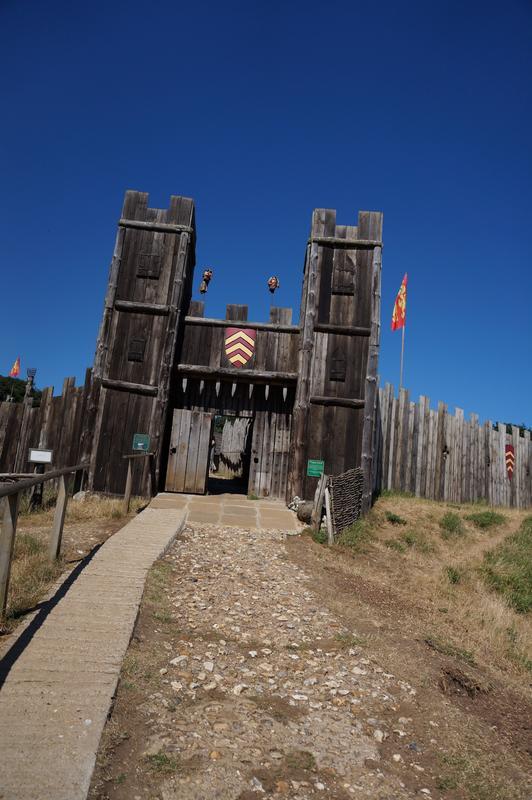 My MAM visiting Mountfitchet Castle. 421_EBE5_D-24_B3-4103-_A680-162_A160947_C5