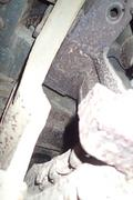 Танк КВ-1 изнутри (№ 9854), Ропша, Ленобласть. P6230200