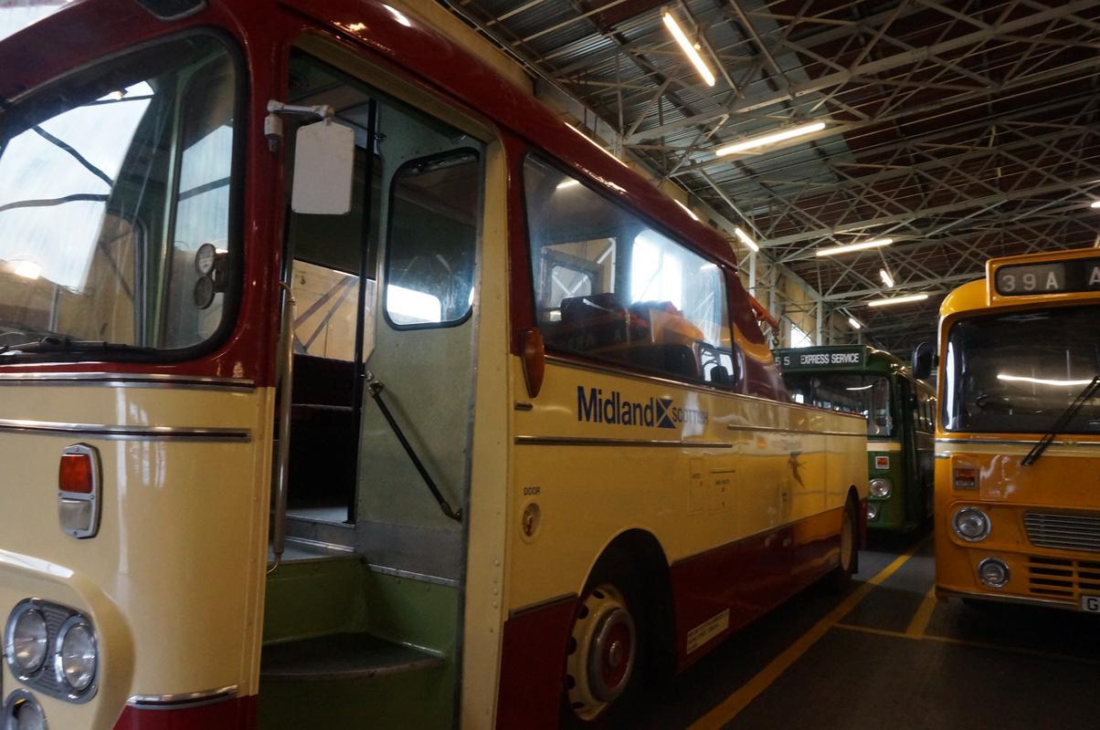 MAM visiting The Scottish Vintage Bus Museum. 81784_E81-8_DEF-4_DB9-_AA41-_ECBB99_ED60_AC