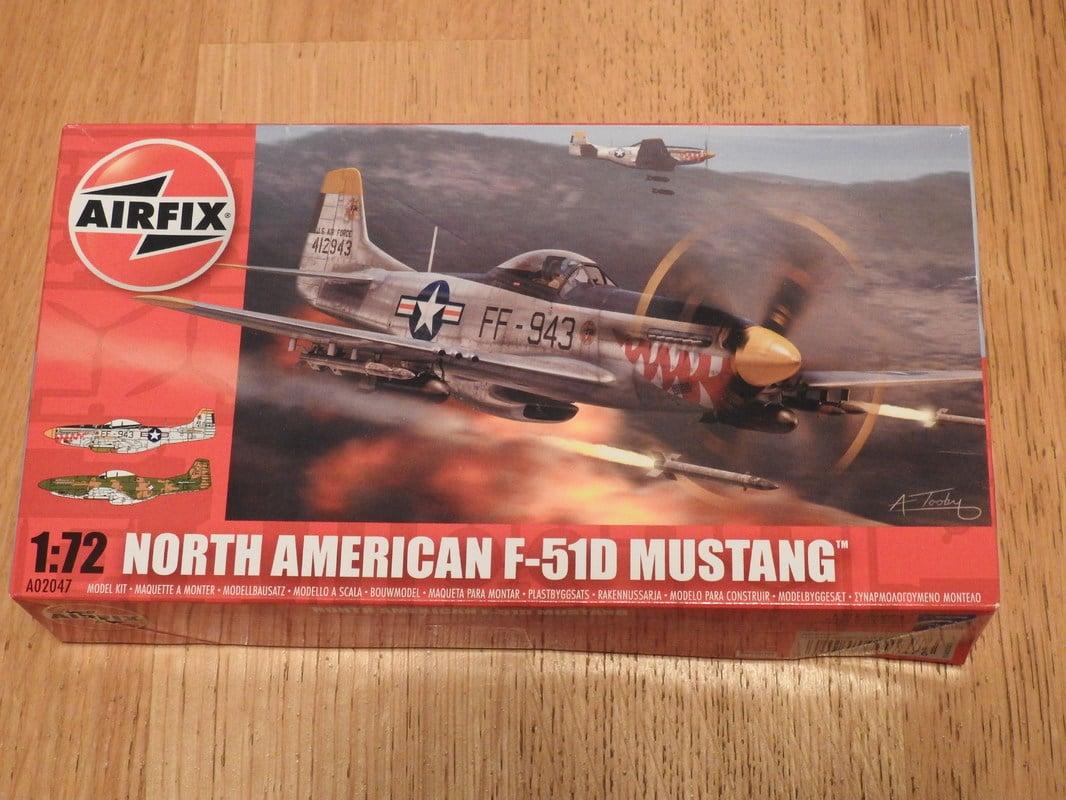 North American F-51D Mustang, Airfix, 1/72 DSCN2368