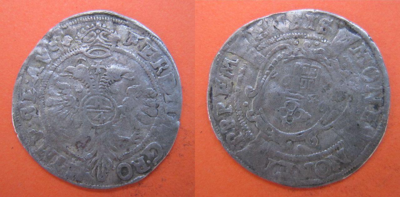 4 grote (flinderken) 1646. Bremen. (Estados Alemanes) 4_grote_1646_Bremen