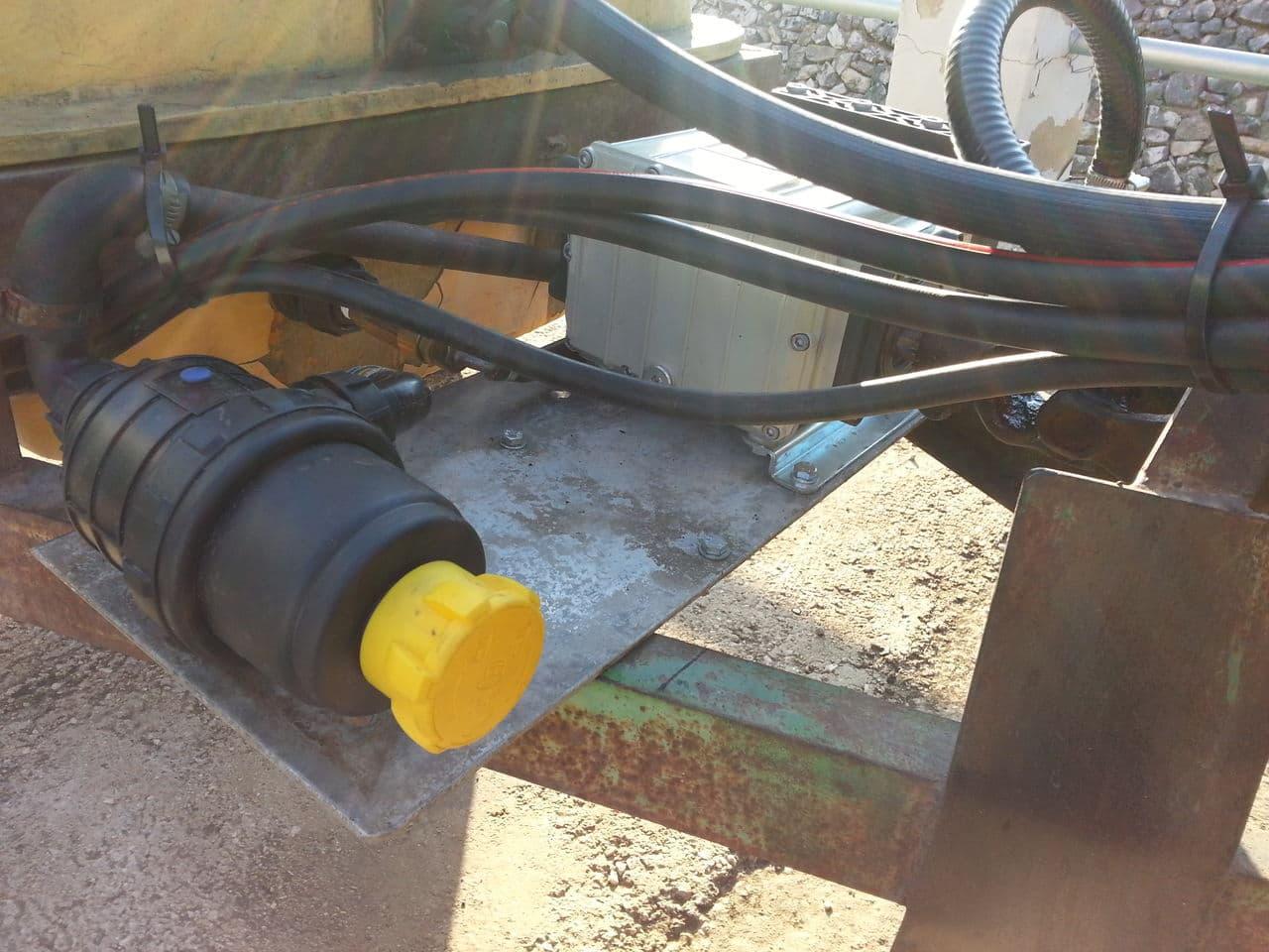 Restauración de una cuba de 600 litros para pasar la Inspección de Equipos de Aplicación de Fitosanitarios Filtro