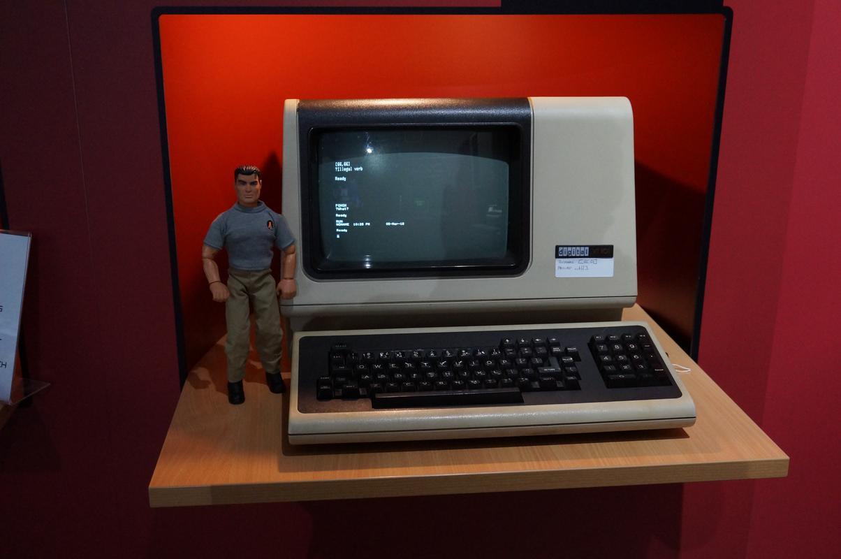 My MAM visiting  Cambridge Computer History Museum. 36196506-_B901-4435-8_D9_C-_CE01061_AC112