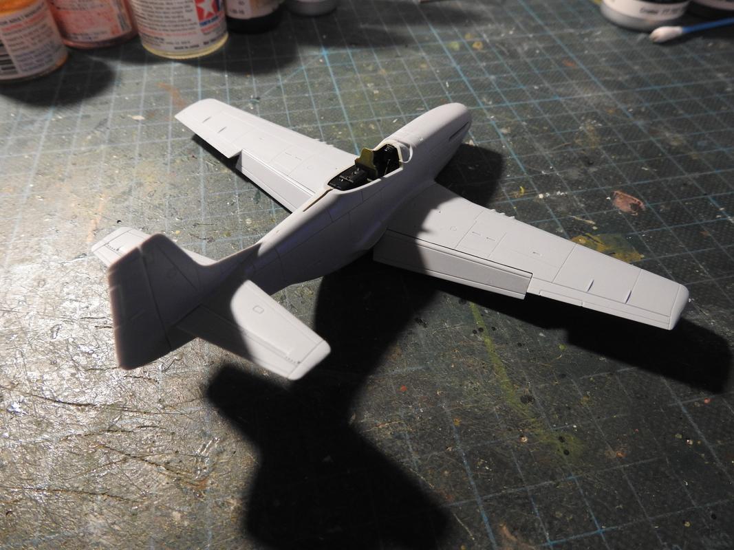 North American F-51D Mustang, Airfix, 1/72 - Sida 2 DSCN5753