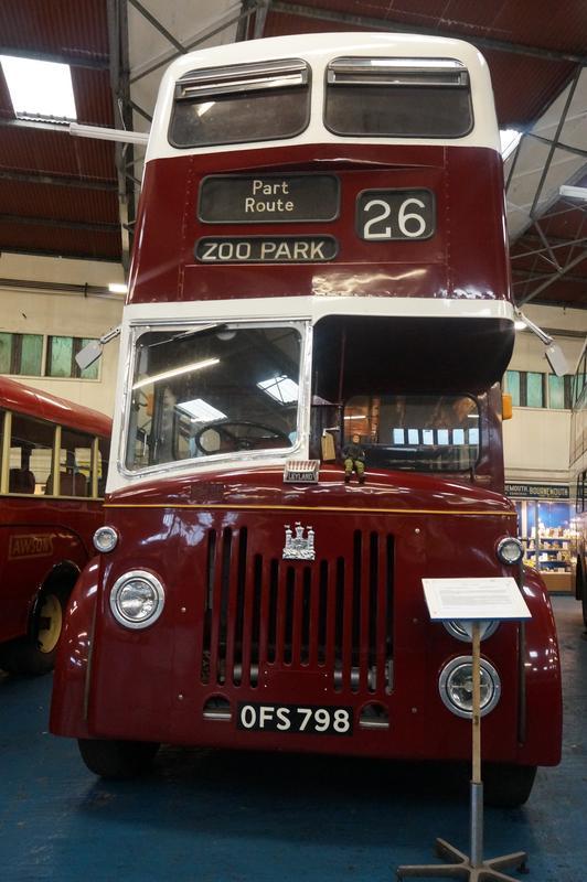 MAM visiting The Scottish Vintage Bus Museum. 9_EC58_D1_D-7_B9_D-4_B61-_BC66-9253_CE3_D6_EDC