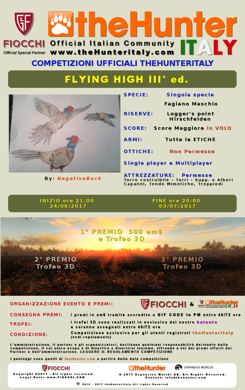 [CONCLUSA] Competizioni ufficiali TheHunteritaly - Flying High III ed. - Fagiano Maschio - FLYING_HIGT_III_ED_ombre_finito