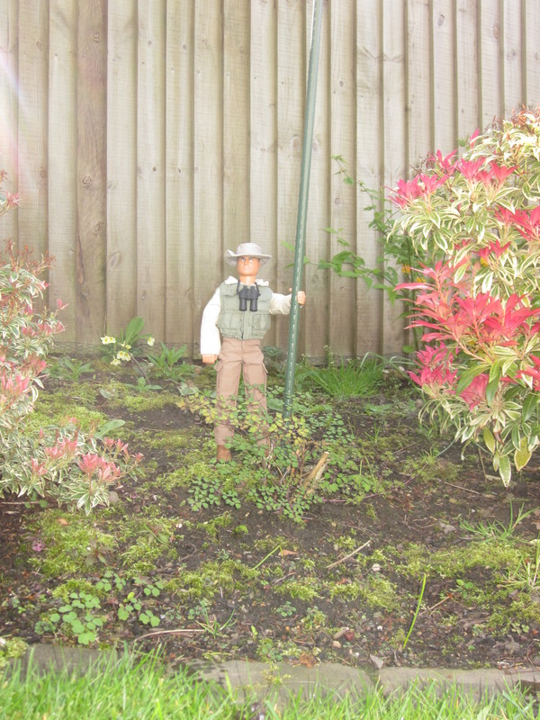 One of my old Action Men I don't have any more in my garden (Ackie88) IMG_1413