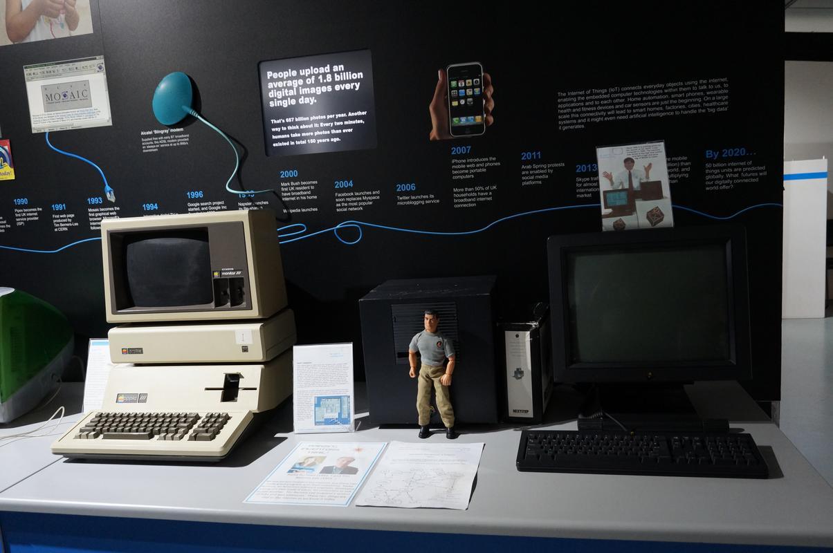 My MAM visiting  Cambridge Computer History Museum. 9_C251_B1_A-_F4_DD-468_B-_AE56-77_BD56_A6_E182