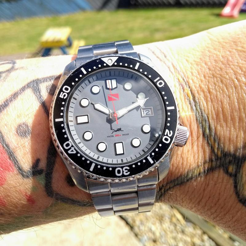 New dial and chapter ring for SKX007 (photo heavy) IMG_20180612_101231520