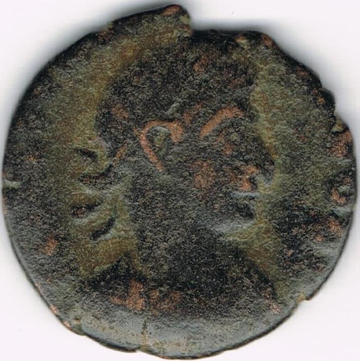AE4 bajo imperio SECVRITAS REI PVB. Roma. 18a