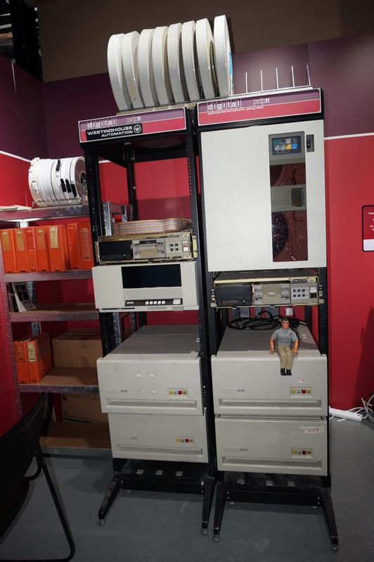My MAM visiting  Cambridge Computer History Museum. B824_B4_B3-_FE98-4687-9263-_B2_F391_C1_A834