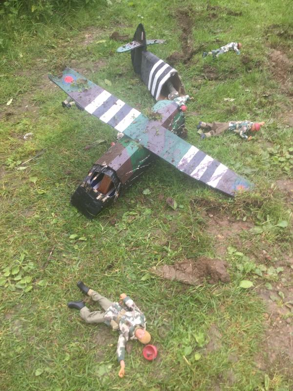 Crash landing..!!!   Operation market garden. Episode 1 IMG_5755
