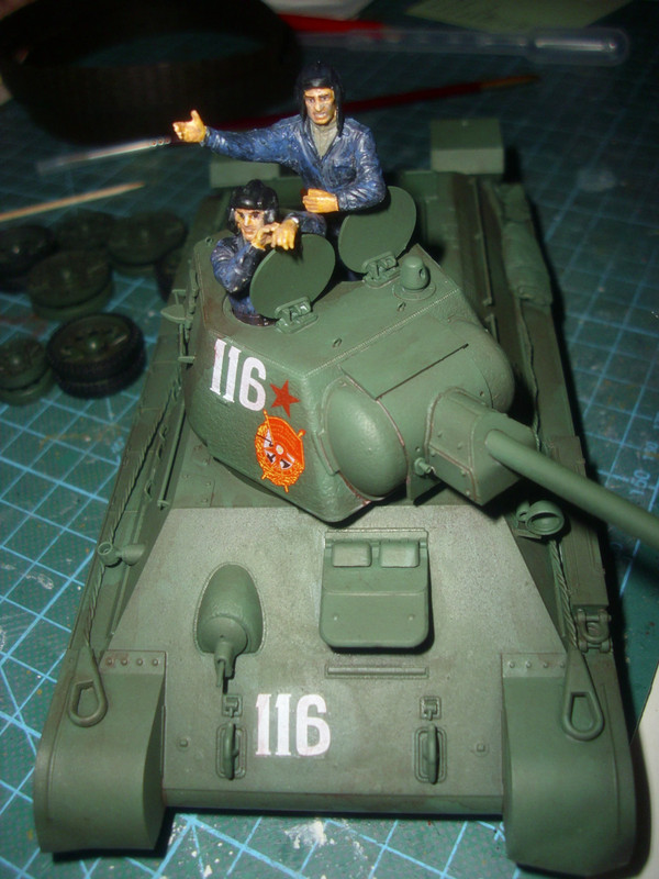 T-34/76 1943 early model. ICM 1/35 - Sida 4 DSCI0743