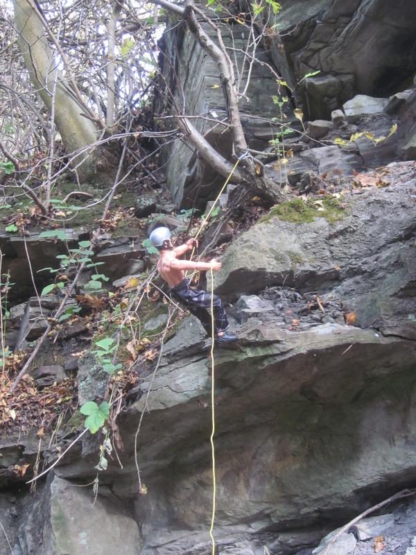Random Action Man Rock Climbing Abseiling Photos. IMG_4771